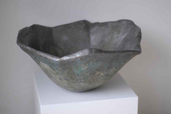 Bronze basin, halchimia, bronze, 40 cm