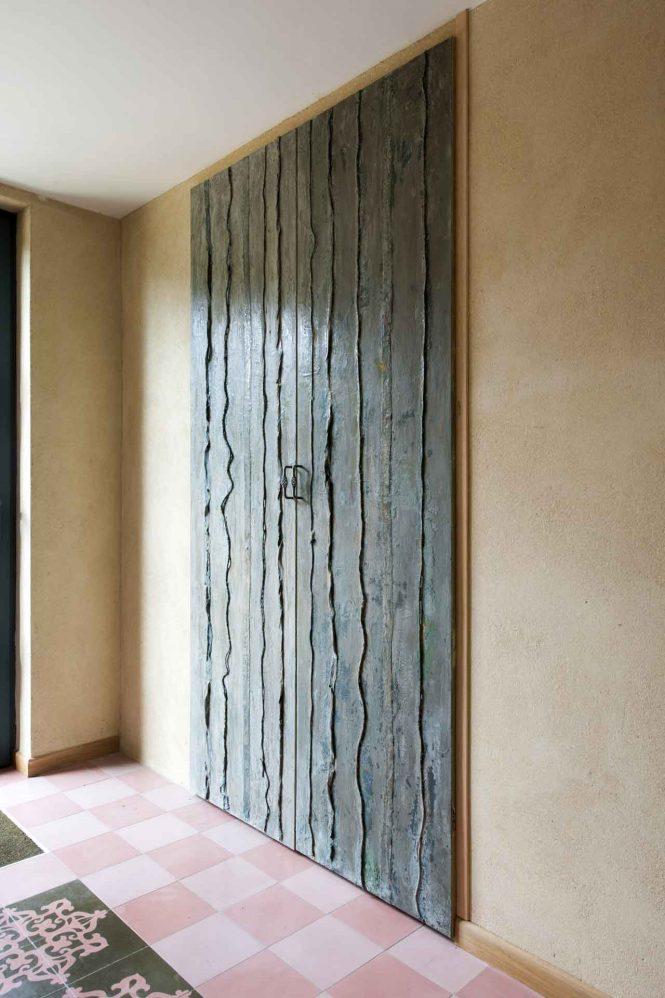 Bronze doors, alchimia, bronze, 220x117 cm