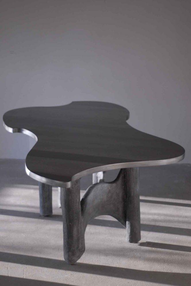 Table Hearts and Minds 1, halchimia, MDF, 220x115 cm