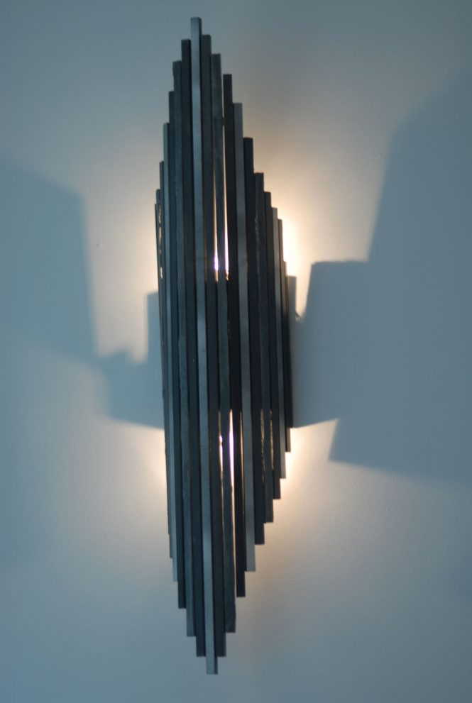 Wall light, MDF, 60x25 cm