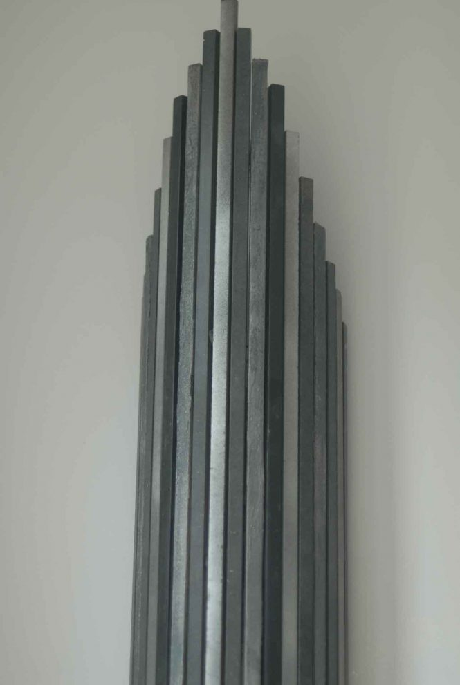 Wall light, detail, MDF, 60x25 cm
