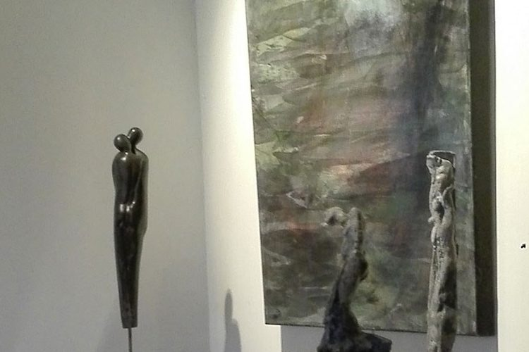 Louise Renaud exhibition in Braine-le-Château, Belgium