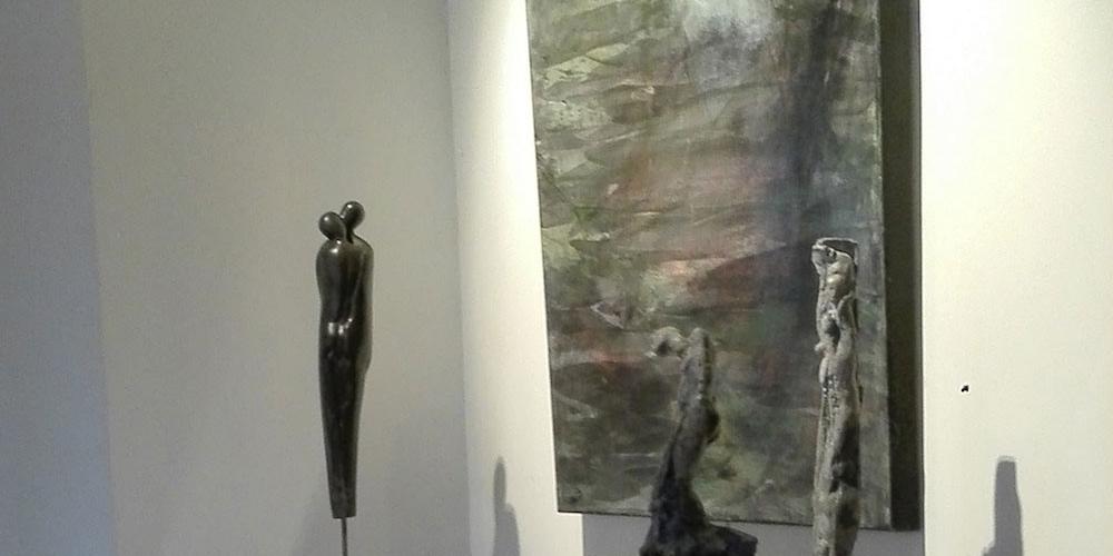 Louise Renaud exhibition in Braine-le-Château, Belgium