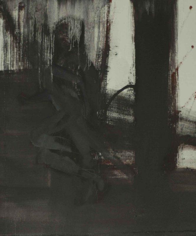 Breathless, acrylic on canvas, 60x50cm