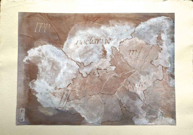 Carta quasi una fantasia 7, watercolor on paper, 31x41 cm