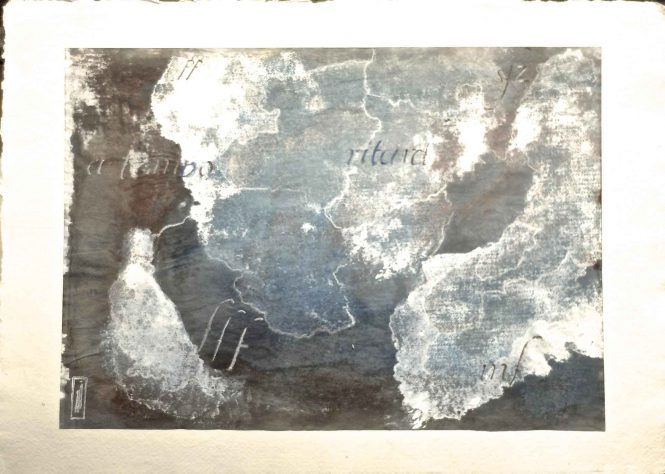 Carta quasi una fantasia 8, watercolor on paper, 31x41 cm