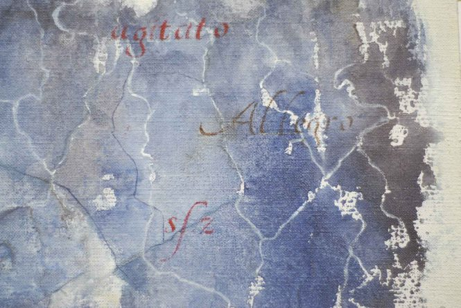 Carta quasi una fantasia 10, watercolor on paper, 31x41 cm