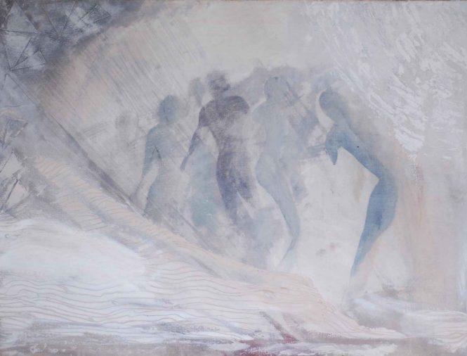 Flood, oil on canvas, 60x80cm