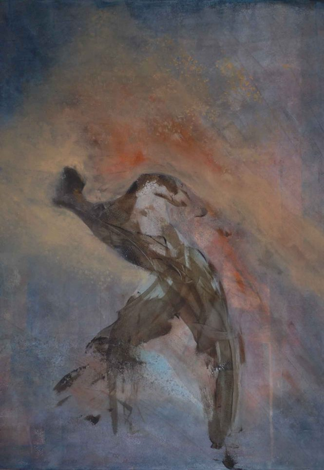 Long Distance, acrylic on canvas, 120x100cm