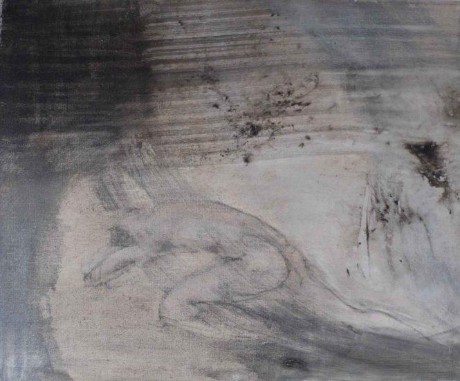 Rescue, oil on canvas, 50x60cm