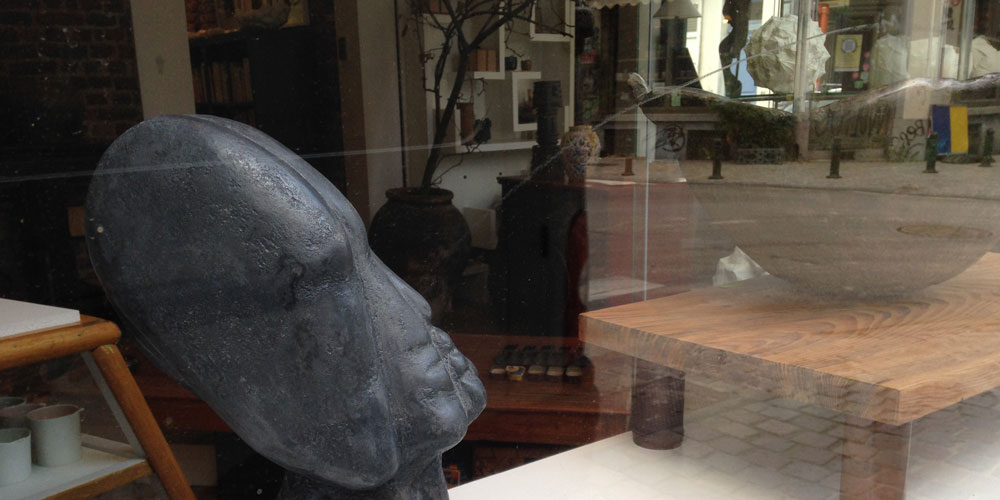 Louise Renaud exhibition at Indigo Arts and Crafts Gallery in Brussels, September 2018