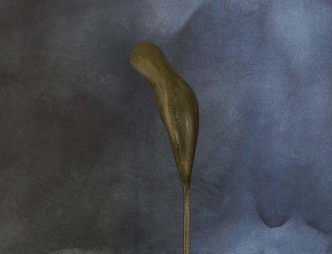 Cantilene, jesmonite, 38x7x4 cm