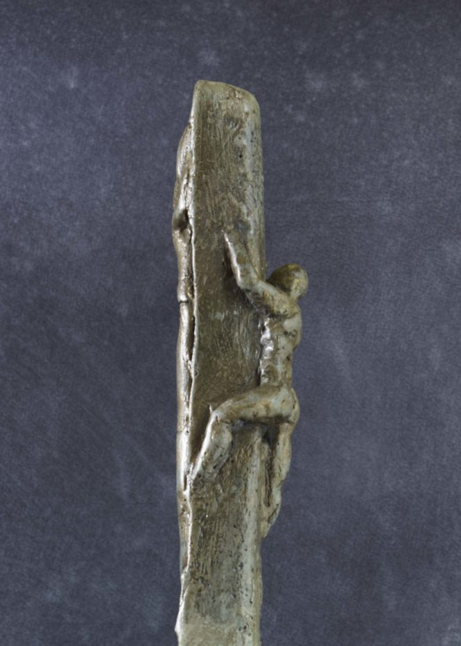 Totem, detail, halchimia and bronze