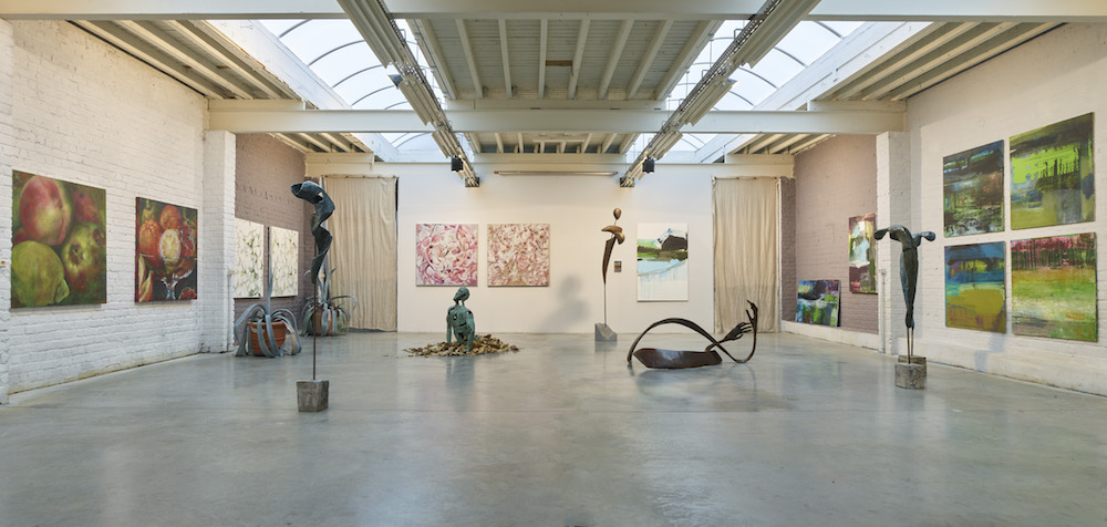 Exhibition Louise Renaud Brussels 2020 When Nature Meets Abstraction