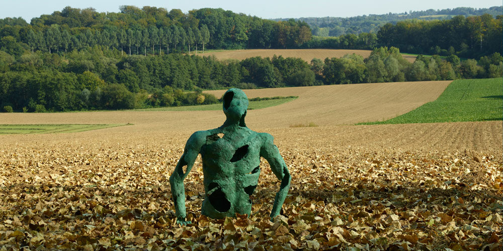 Exposition des sculptures de Louise Renaud du 22 au 24 juin 2021, Braine-le-Château